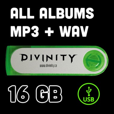 16Gb USB Stick - All Music MP3 / WAV